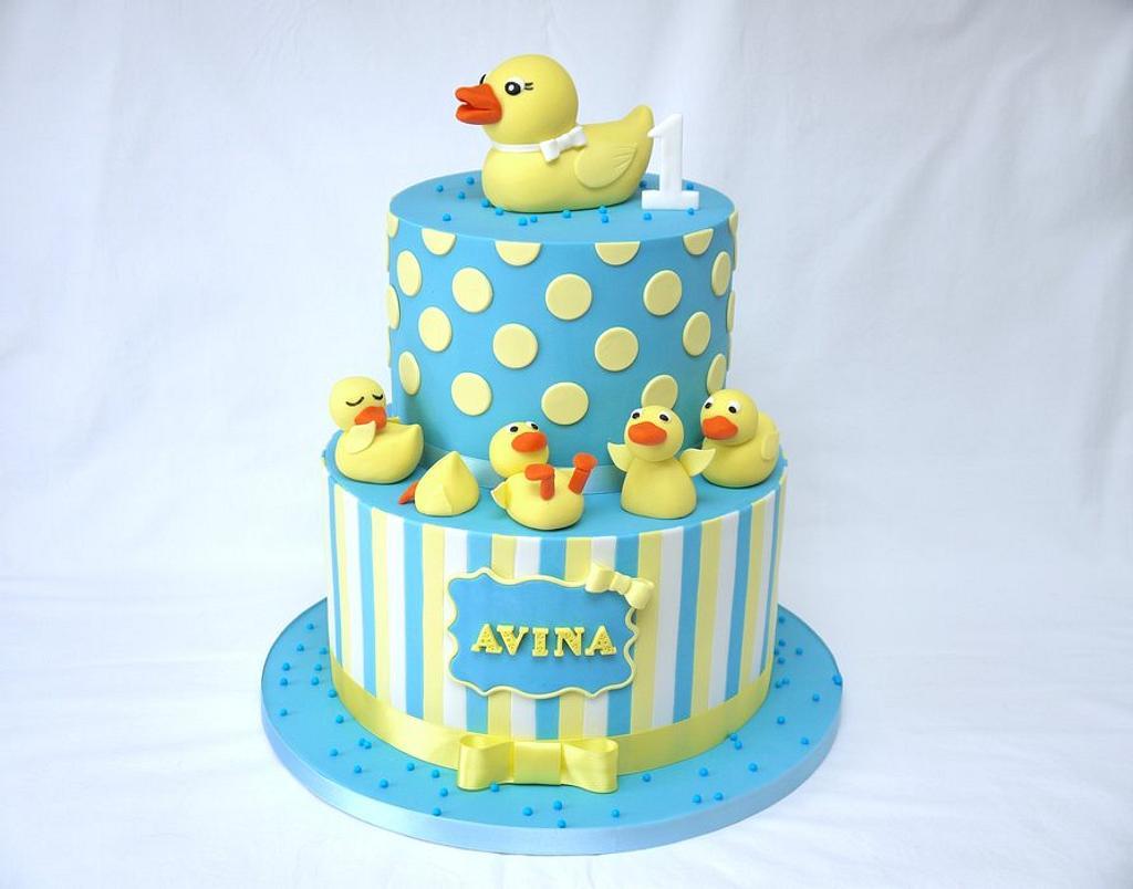 Five Little Ducks Cake! by Natalie King