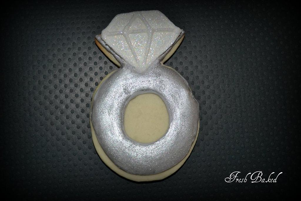 Ring Cookie by Jamie Dixon