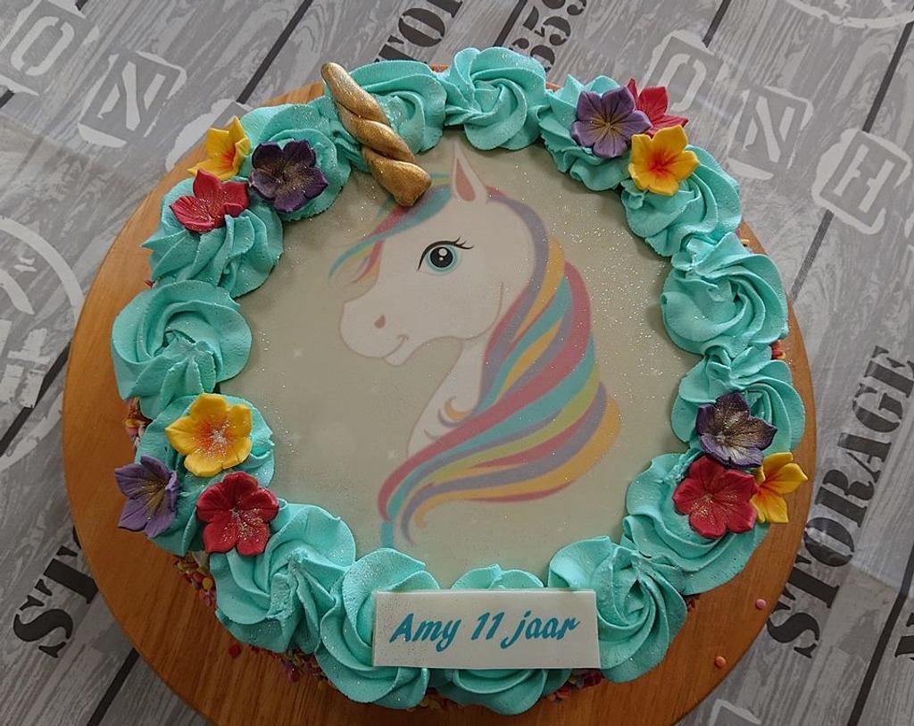Unicorn cake by Stertaarten (Star Cakes)