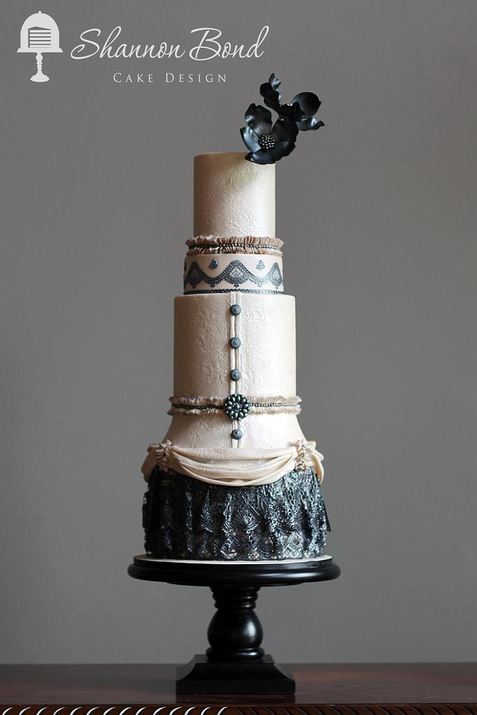 Fashion Through The Decades 1900-1910 (Edwardian Era) by Shannon Bond Cake Design