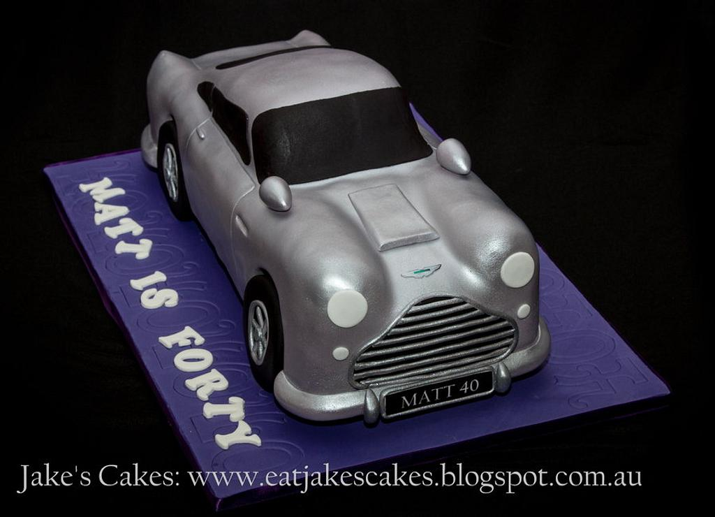 Car Cake for my beloved by Jake's Cakes