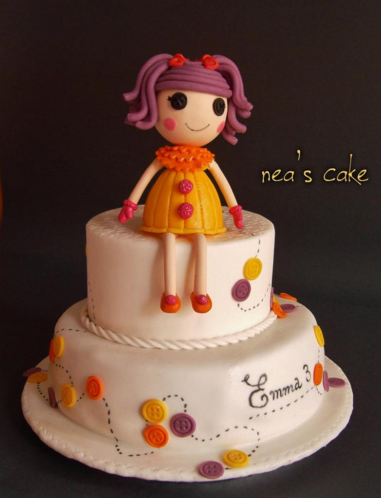 Lalaloopsy cake..... for my little daughter ! by Nea's cake
