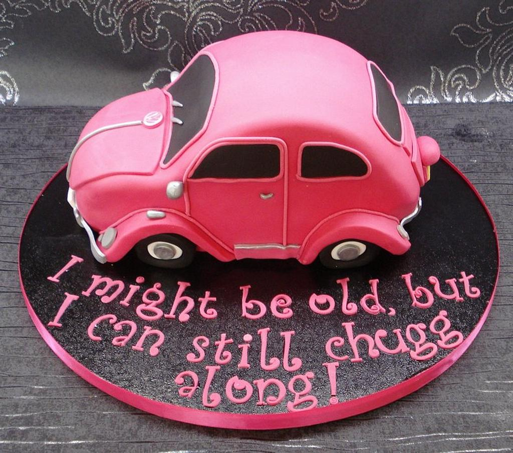 VW Beetle cake by That Cake Lady