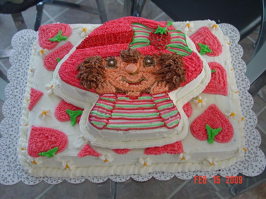 Strawberry Shortcake Cake by Michelle