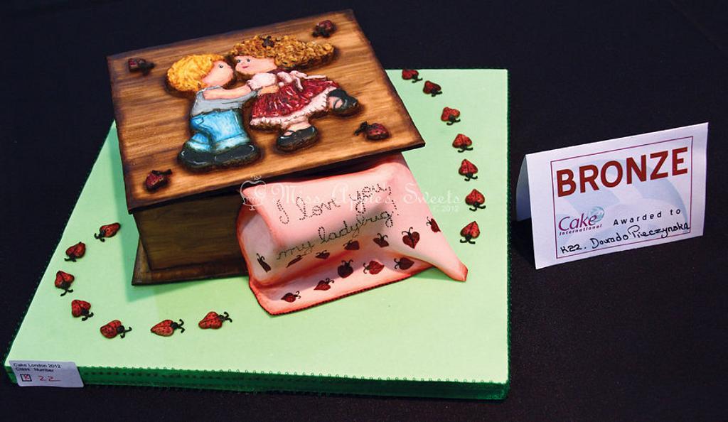 Wood Box Decorative Exhibit by Karen Dourado