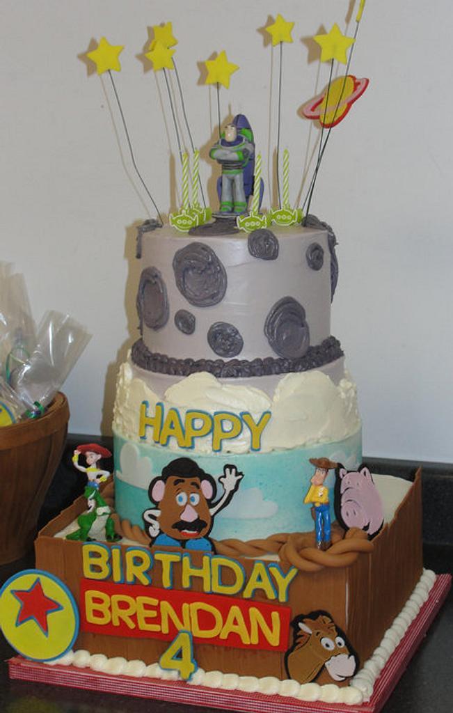 Toy Story cake by pastrychefjodi