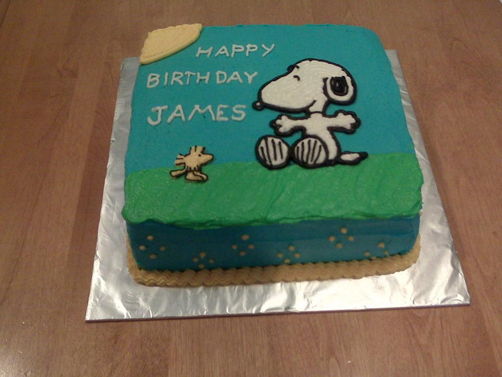 Snoopy Cake by Elena Z
