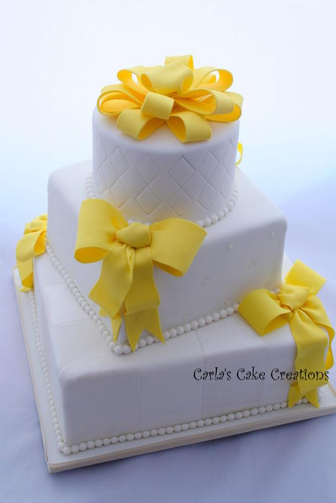 A pop of Yellow by Carla