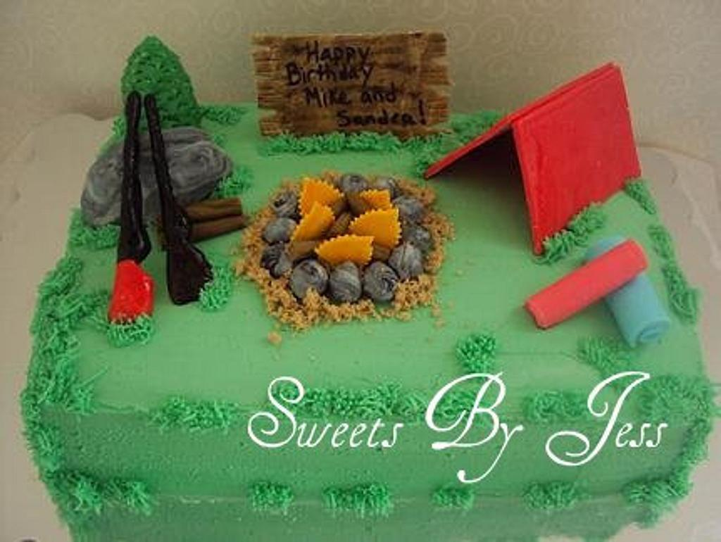Camping Cake by Jess B