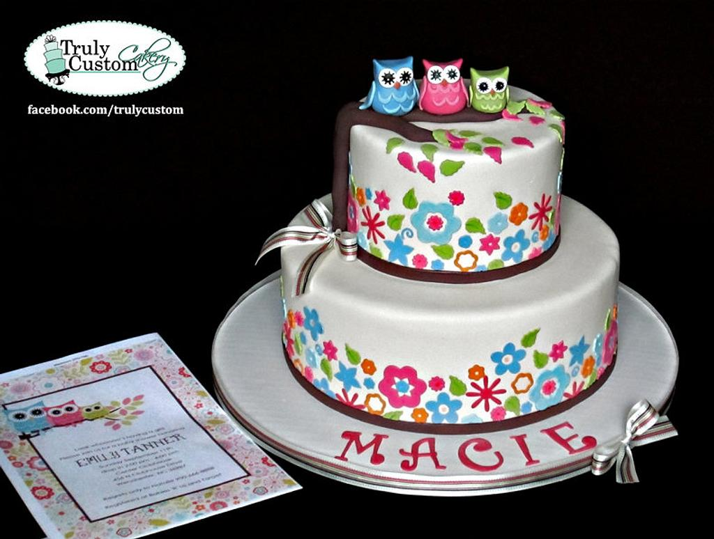 Baby Shower Cake by TrulyCustom