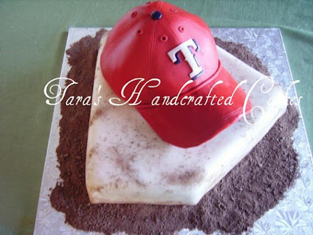 Baseball grooms cake by Taras Handcrafted Cakes