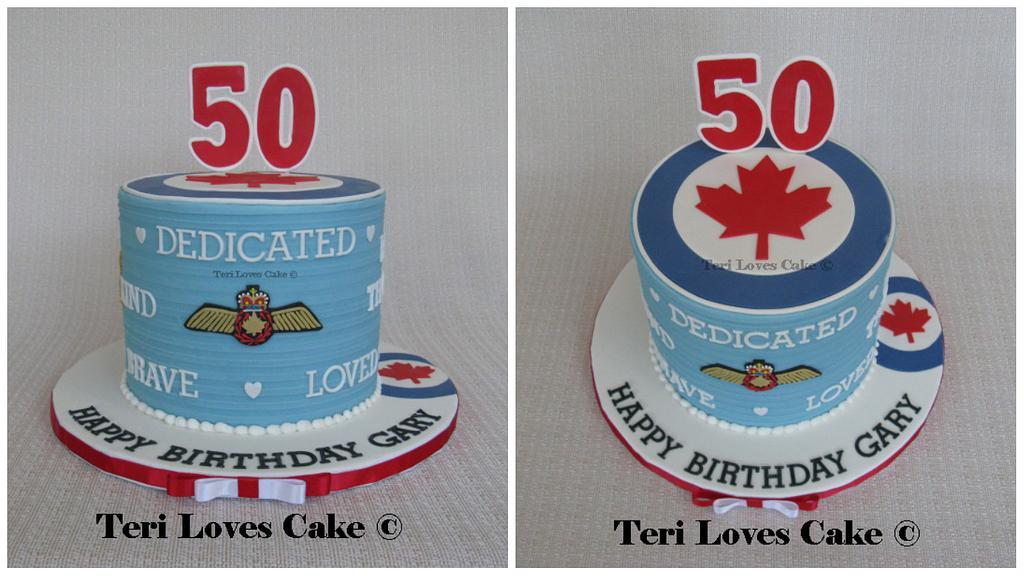 Gluten-Free RCAF Cake by MsGF