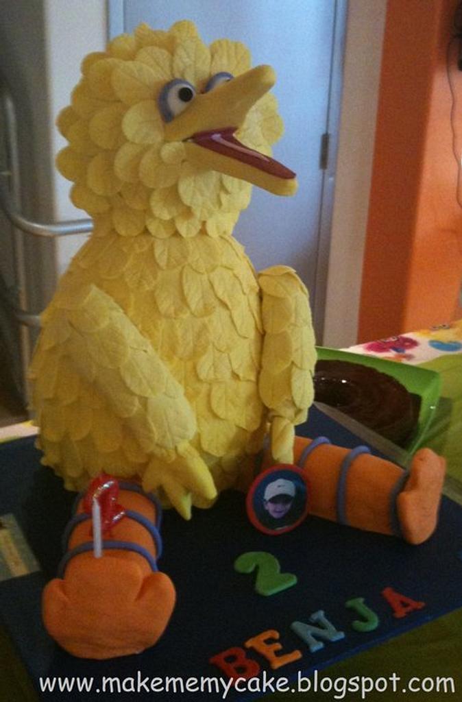 Big Bird Cake by Eva Salazar