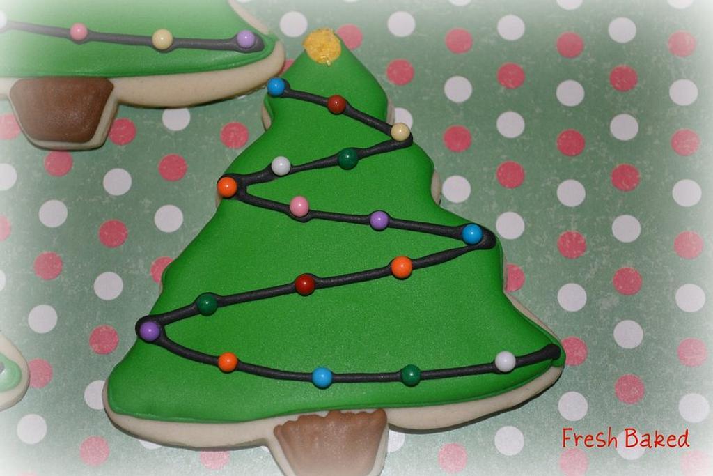 Christmas cookies by Jamie Dixon