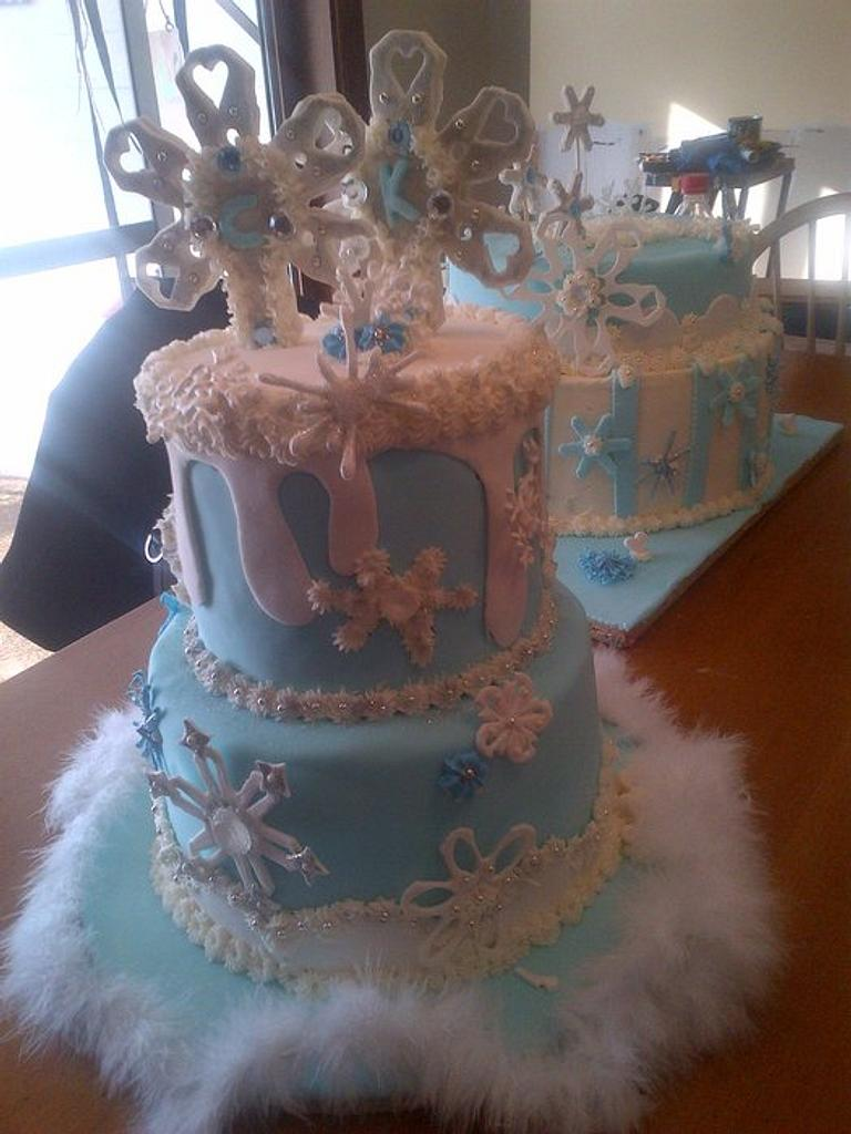 Winter Wonderland Cakes  by TraciBlackwell