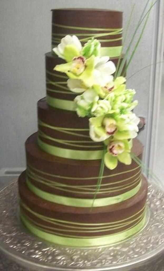 Ganache and Green by Laura Comer