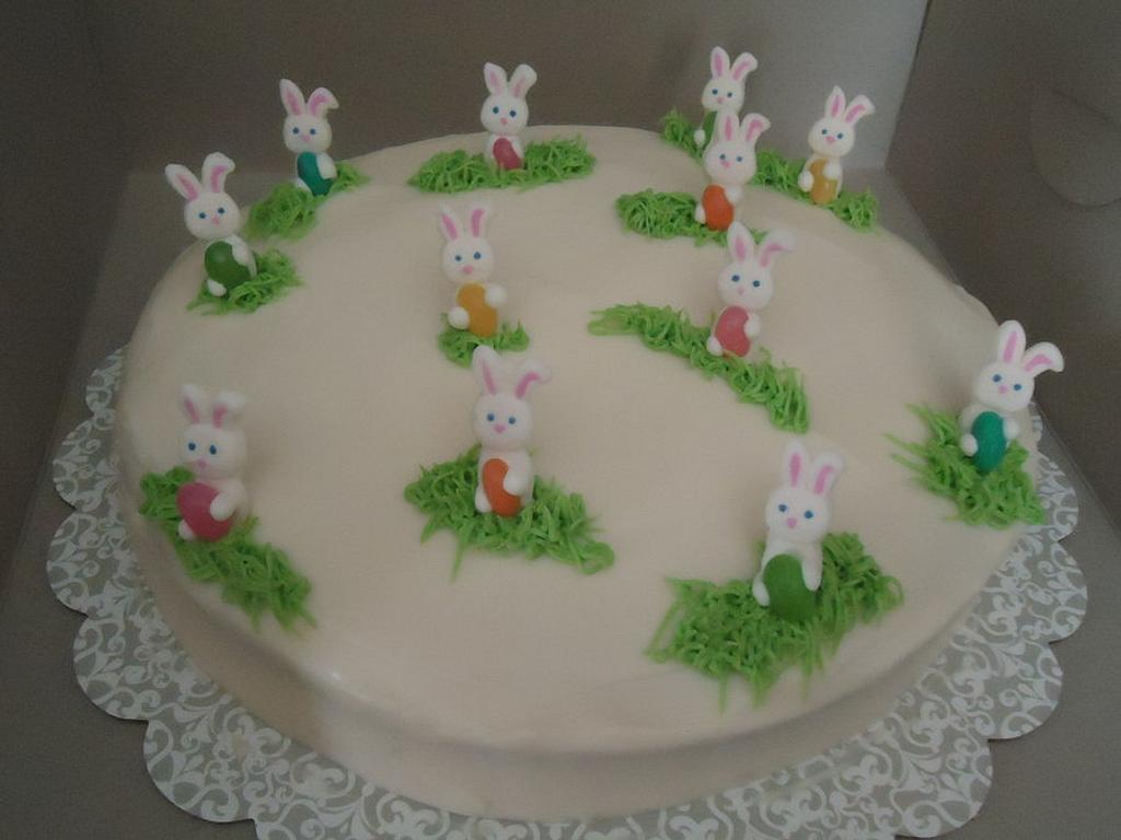 Easter Bunnies by Kim Leatherwood