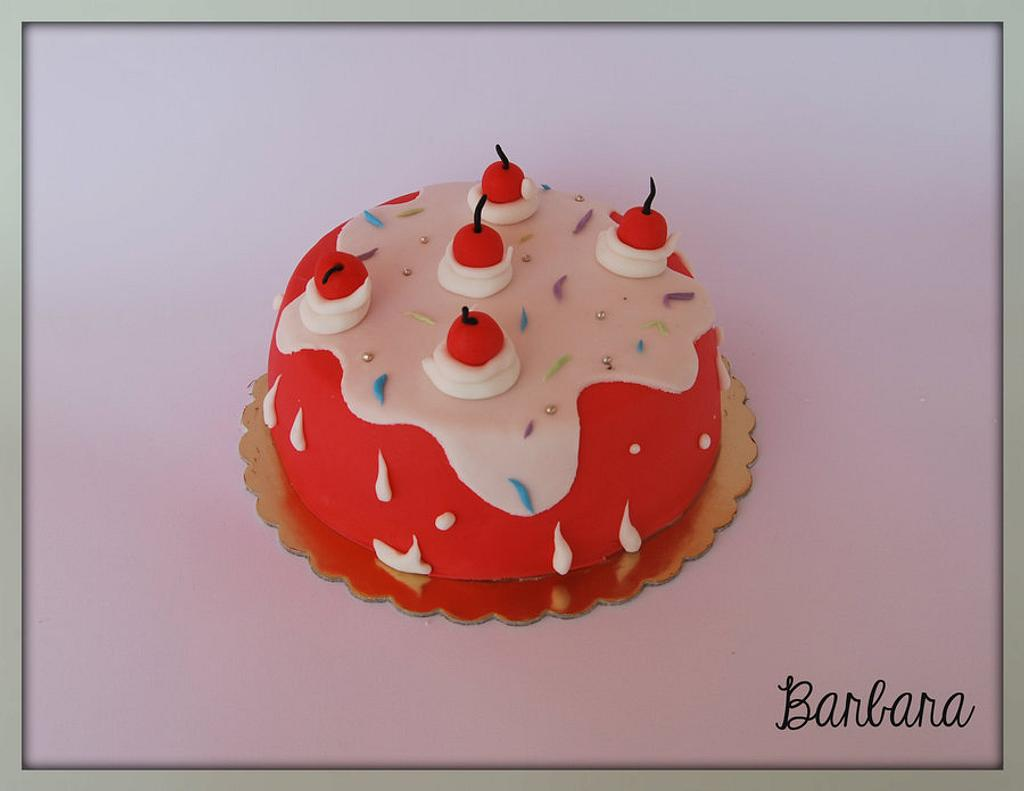 Drippy cake by Barbara Casula