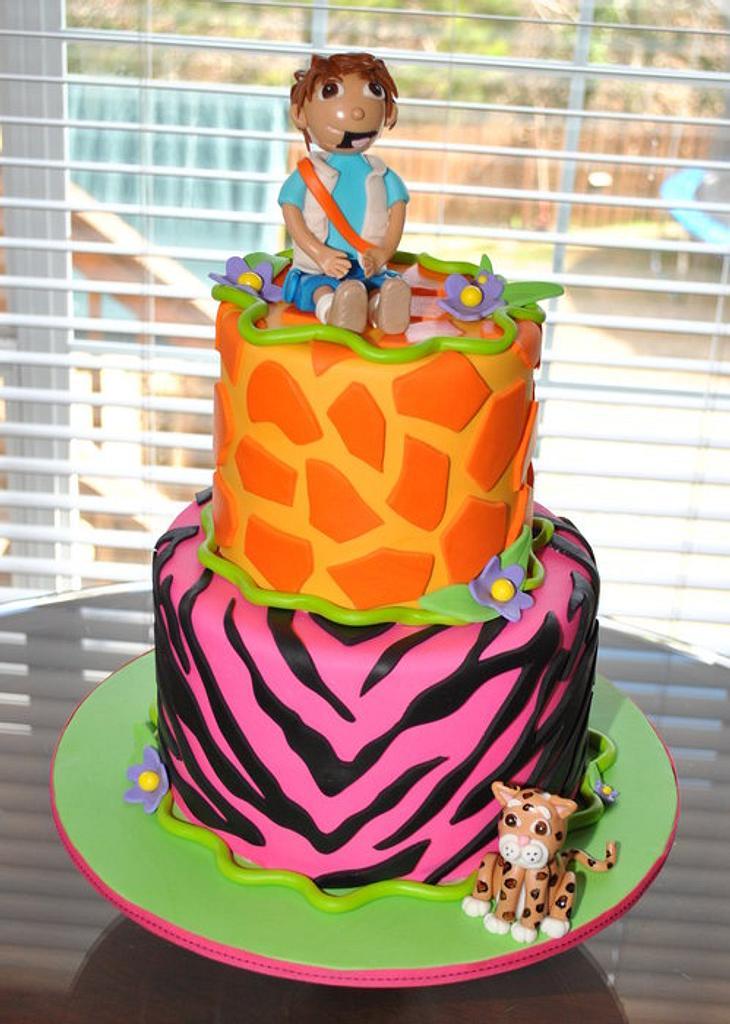 Diego Girl Cake by Hope Crocker