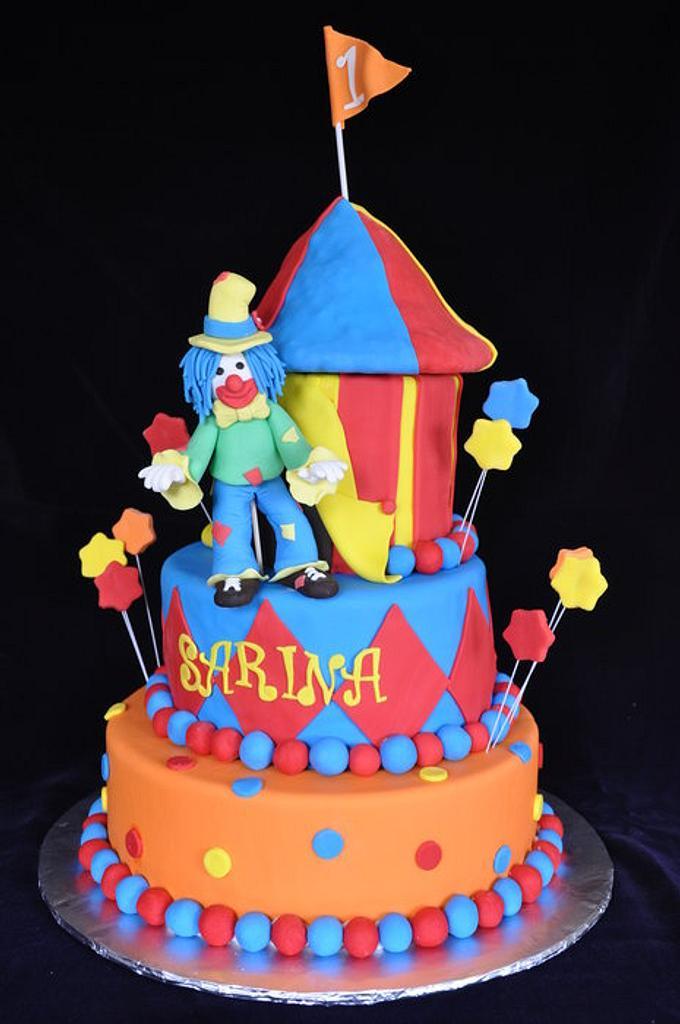 Circus Cake   by cakeImake