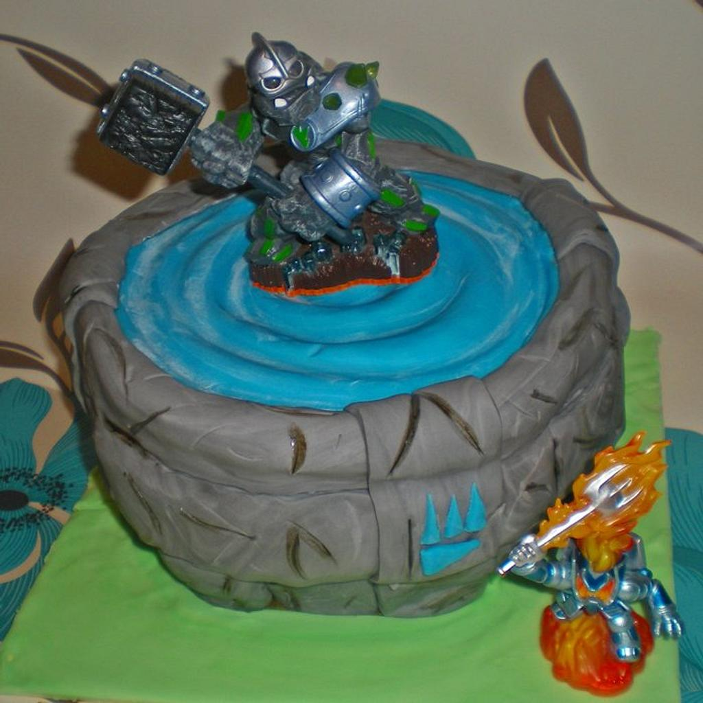 skylander's portal  by Time for Tiffin