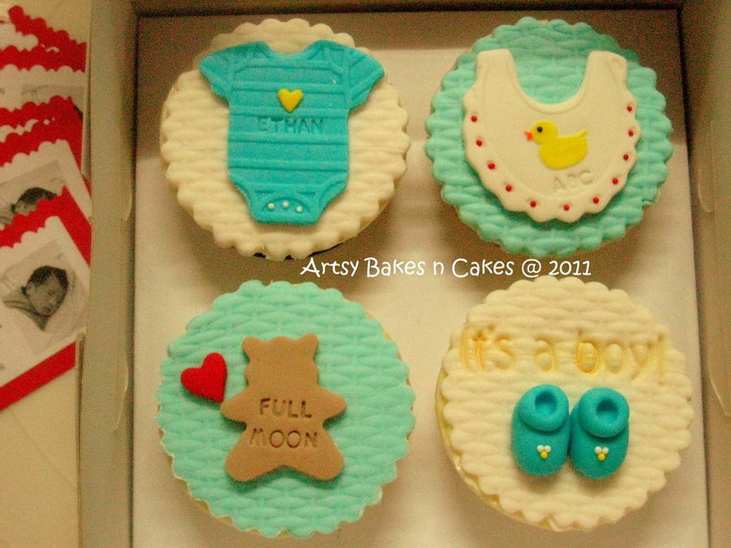Baby Cupcake Set by Joelyn Wong