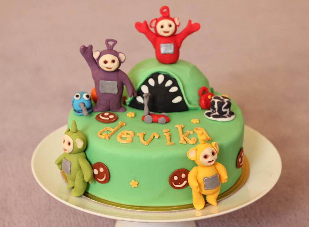 Teletubbies Cake by Smita Maitra (New Delhi Cake Company)