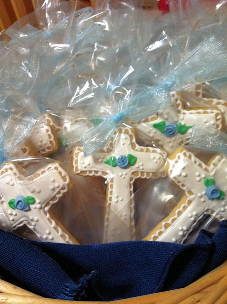 Christening Cookies by Ansa