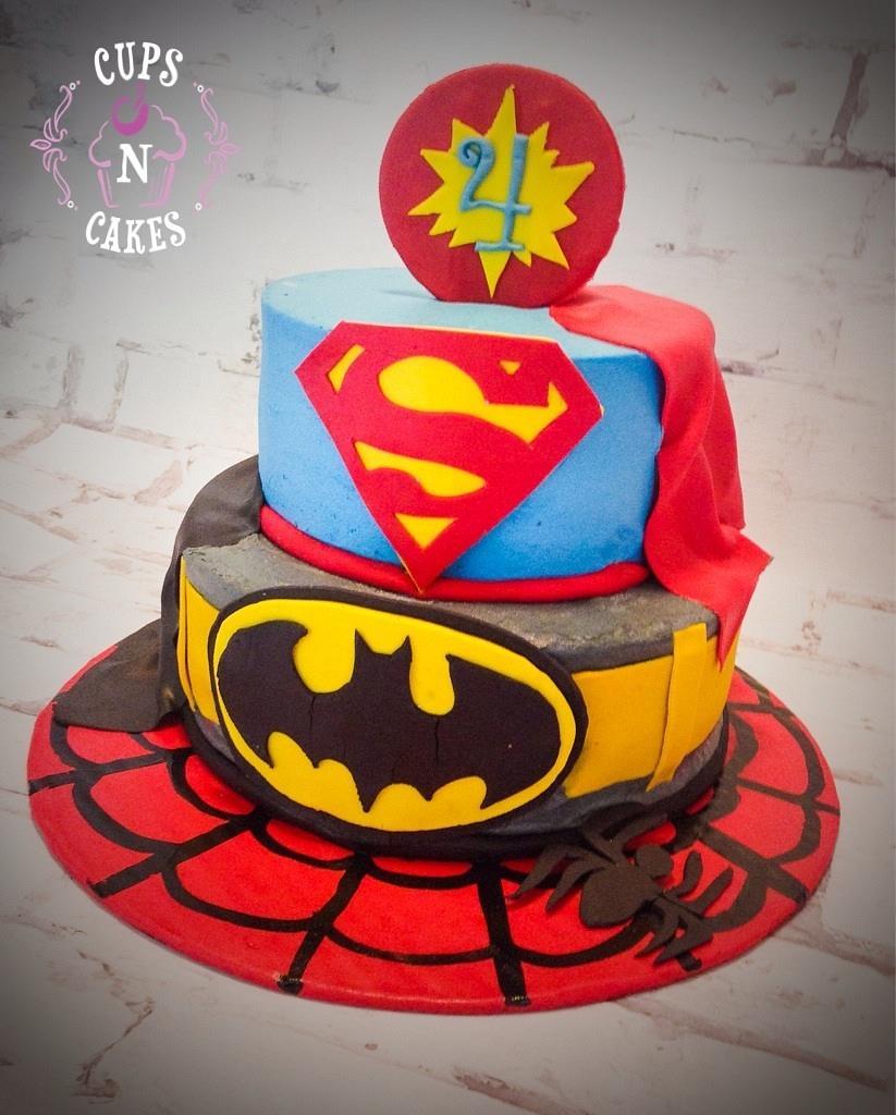 Super Heroes by Cups-N-Cakes