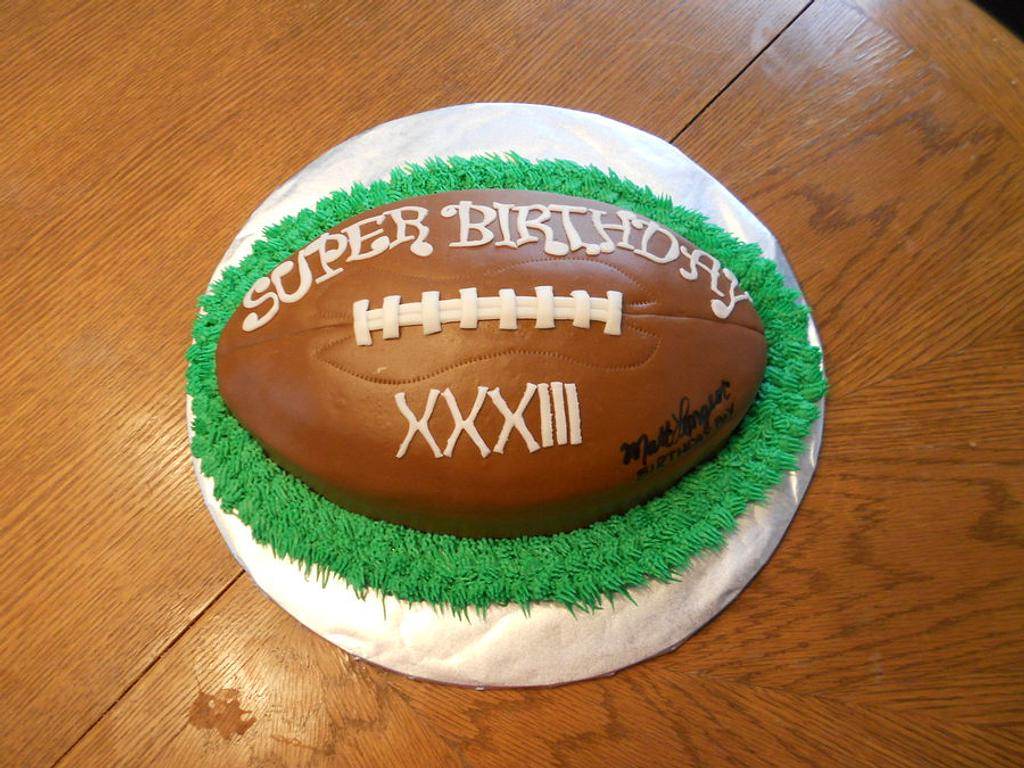 Football by Sara's Cake House