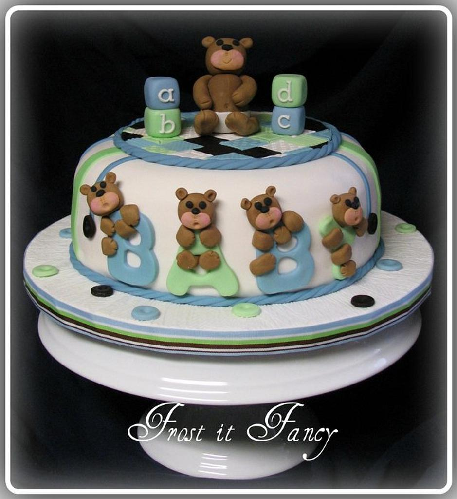 Baby Shower Cake by Frost it Fancy Cakes
