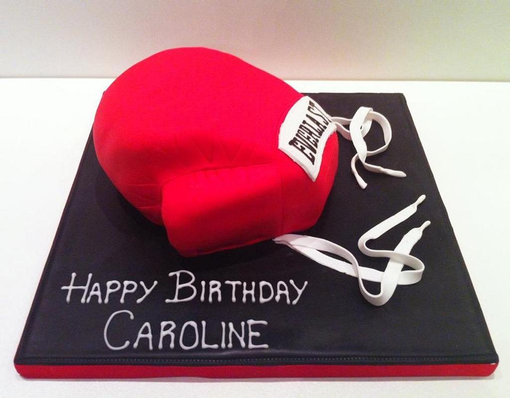 Boxing Glove Cake by Claire Lawrence