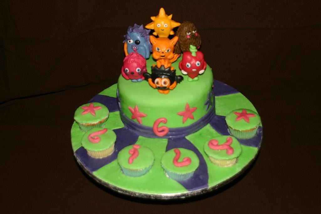 Moshi Monsters Birthday Cake by Tiggy