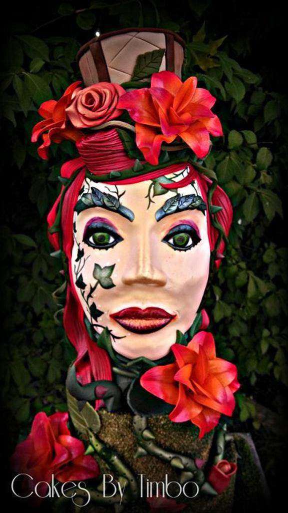 Steampunk Poison Ivy! by Timbo Sullivan
