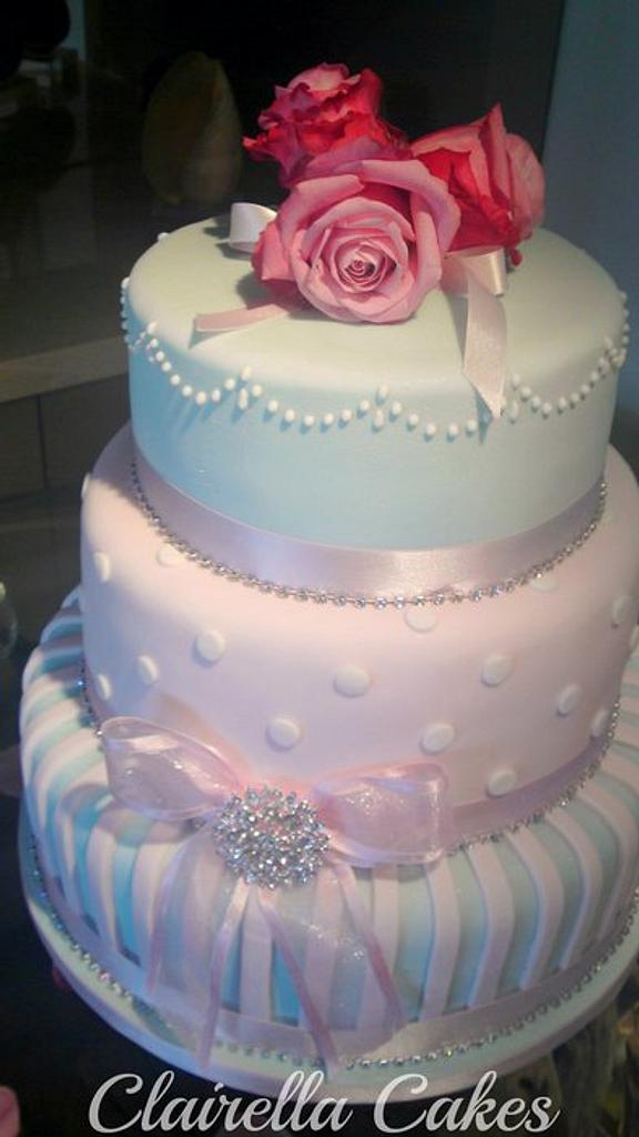 The Ice Dream Wedding Cake by Clairella Cakes