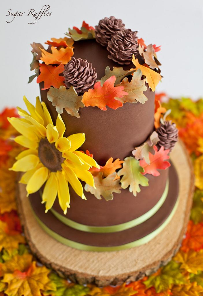 Autumn Cake by Sugar Ruffles