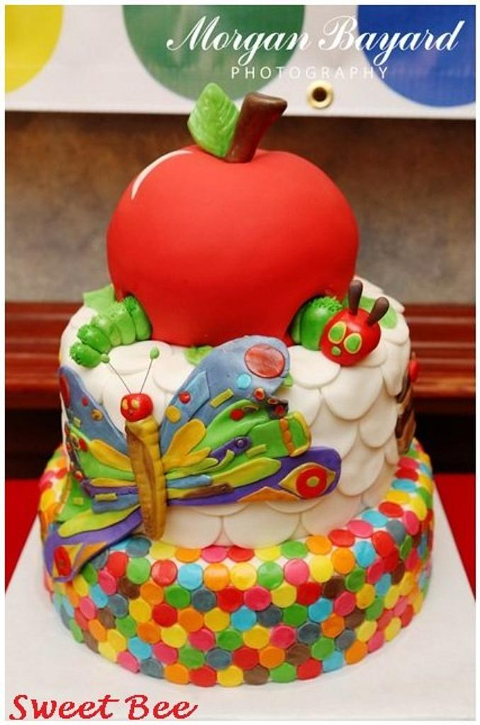 The Very Hungry Caterpillar 1st Birthday by Tiffany Palmer