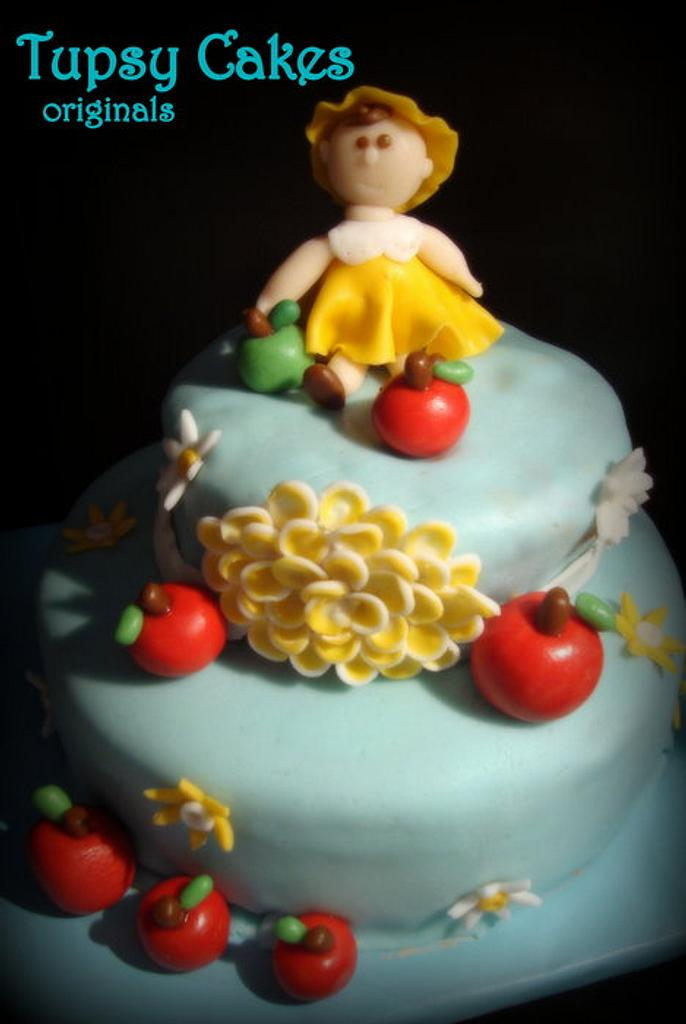 apple's  girl  by tupsy cakes