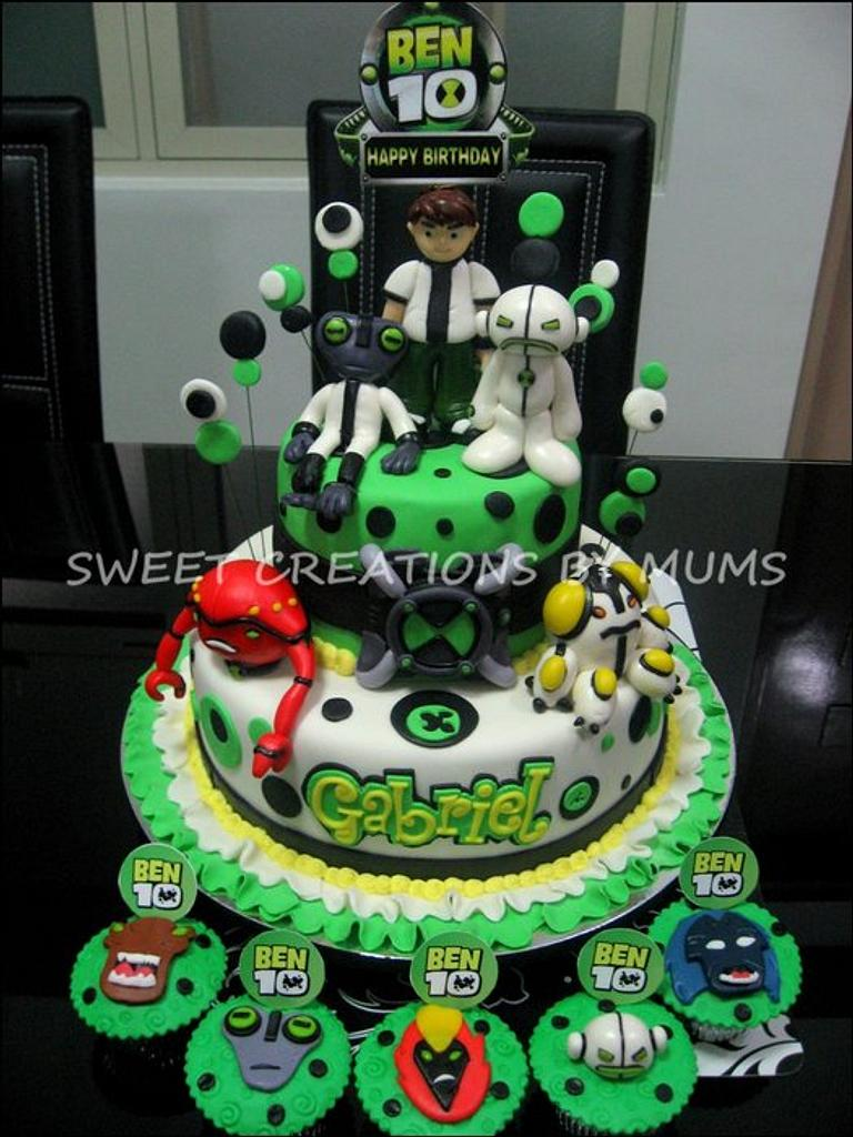 Ben 10 Themed Cake  by Jo-ann M. Tuazon