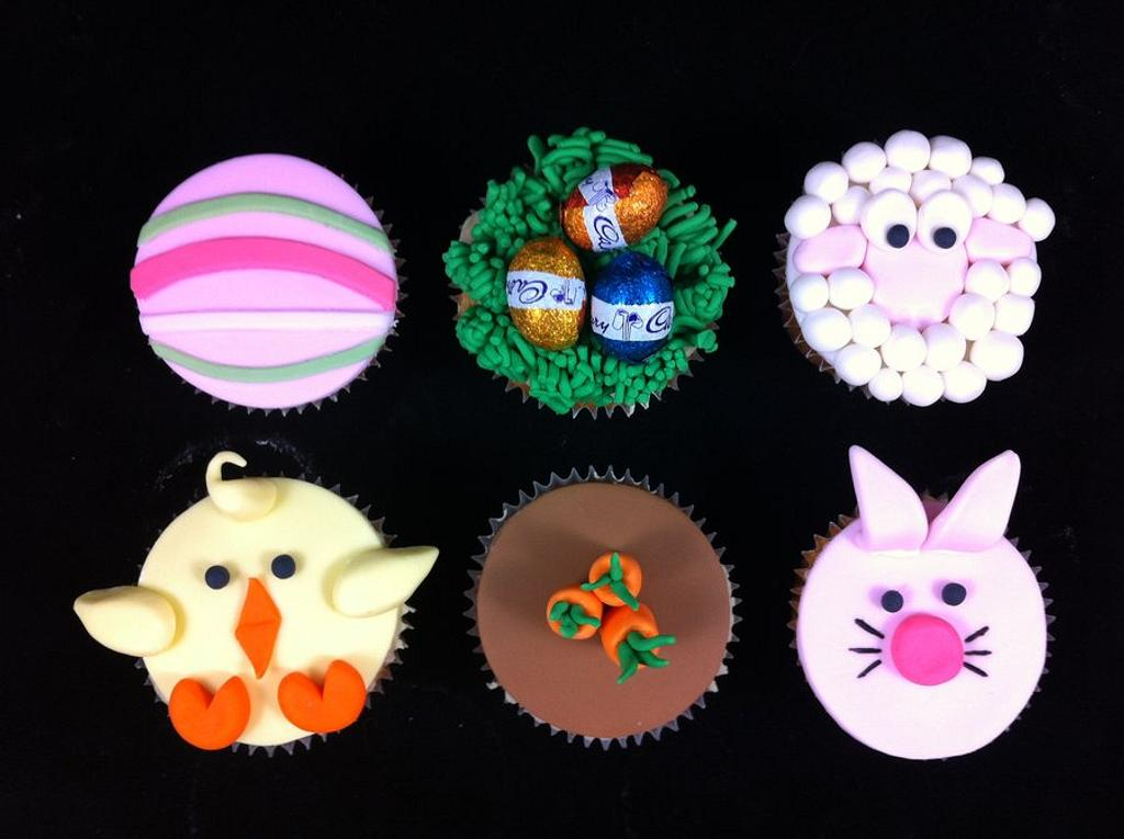 Easter Cupcakes by Lydia Evans