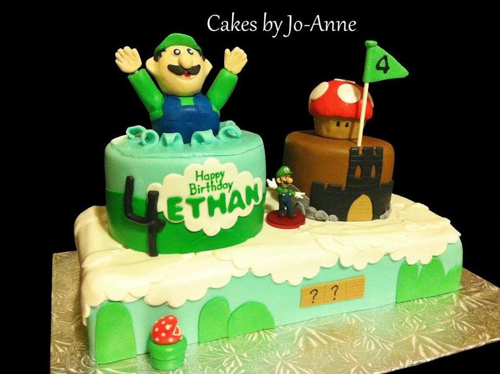 Luigi Birthday by Cakes by Jo-Anne