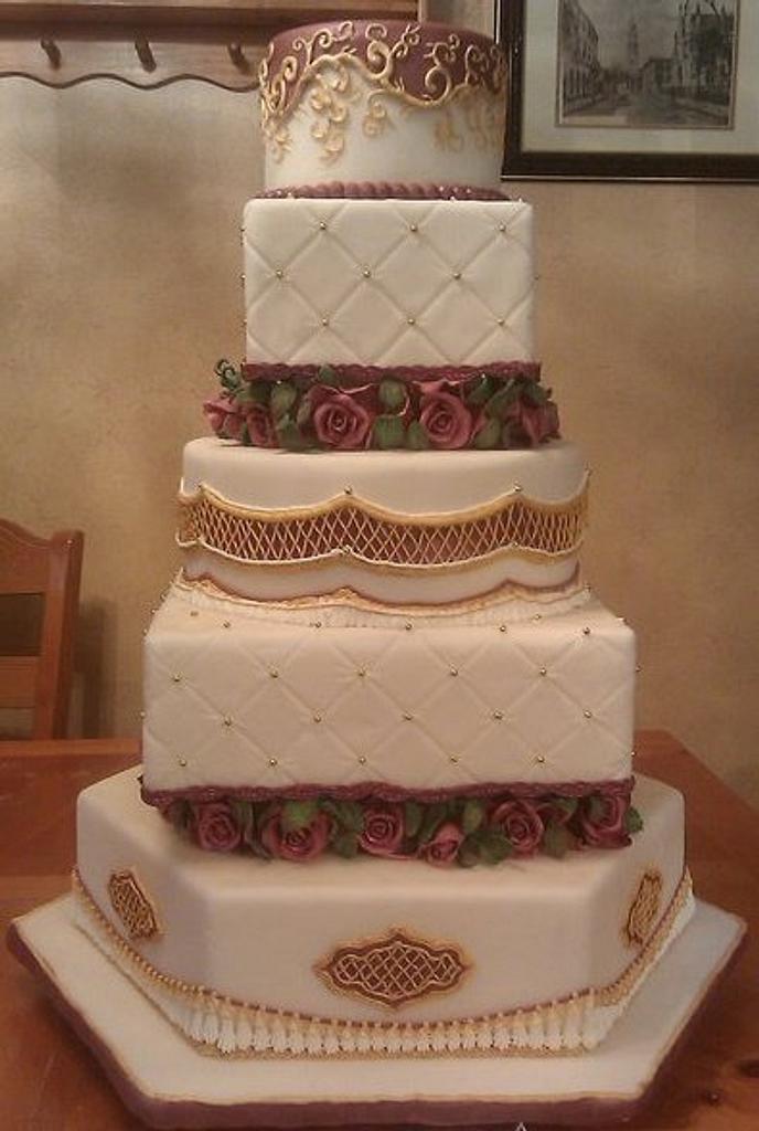 State fair wedding cake by Eric Johnson