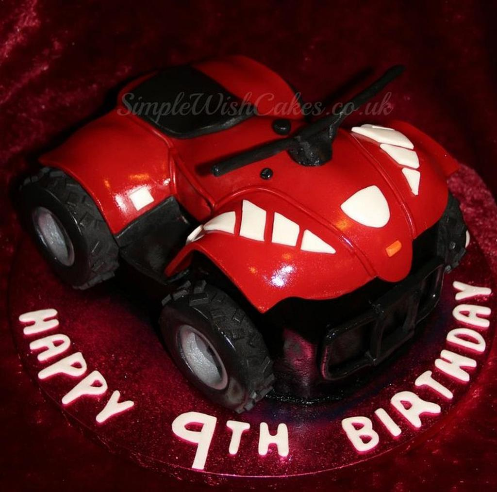 3D Quad Bike by Stef and Carla (Simple Wish Cakes)