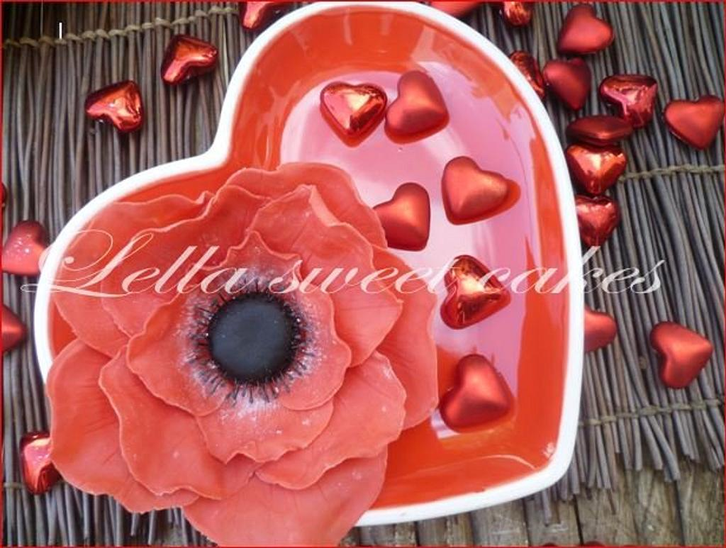 Anemones by LellaSweetCakes