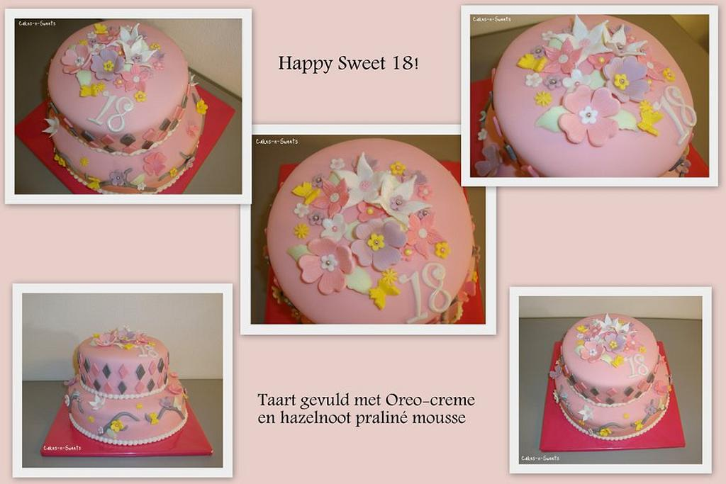 Sweet 18 by Cakes-n-Sweets