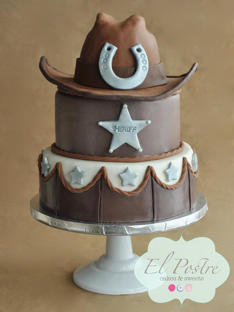 Cowboy cake by Claudia Gonzalez
