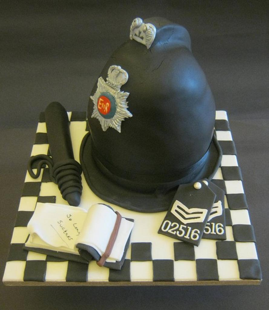 Policeman's Hat by Essentially Cakes