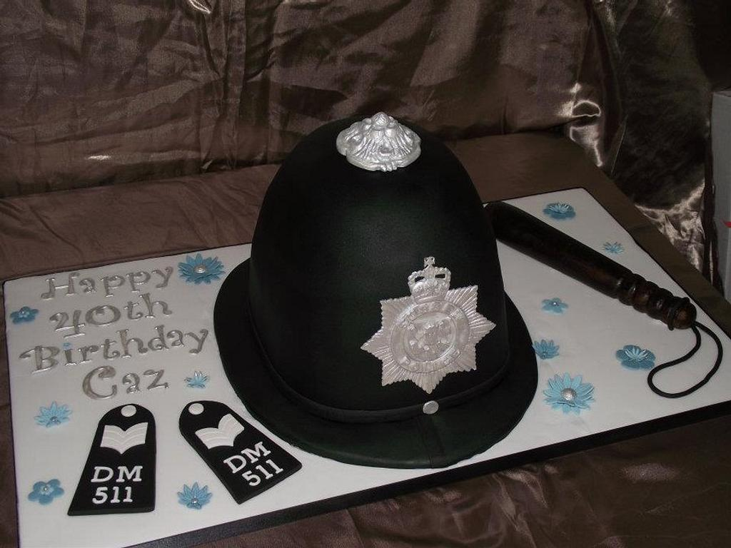 Police Hat by RGCakes