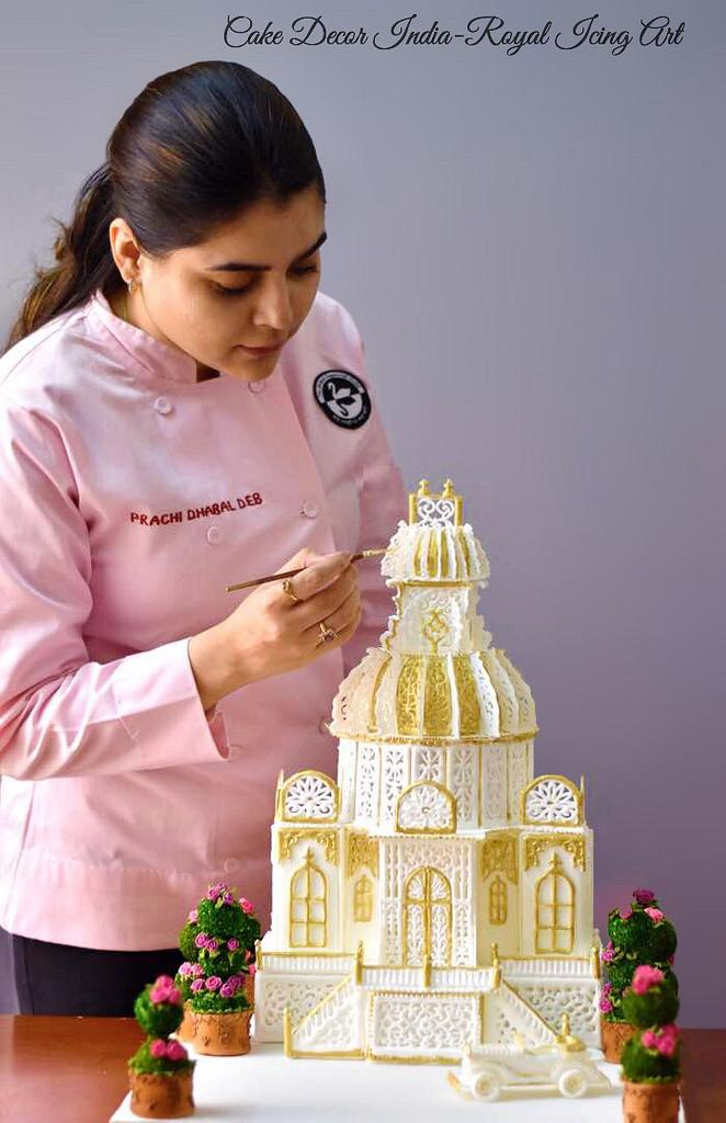 Petite Palace in Royal icing  by Prachi Dhabaldeb