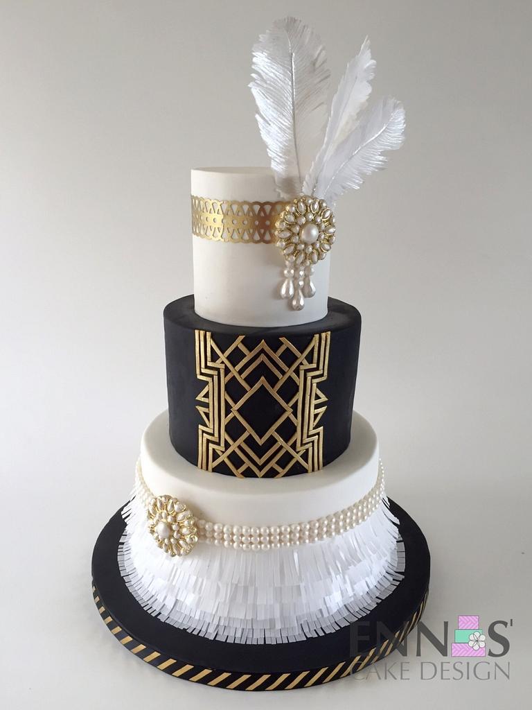 Great Gatsby by Irina - Ennas' Cake Design
